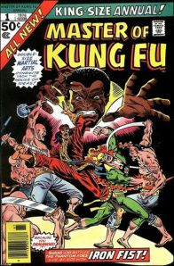 Master of Kung Fu Annual